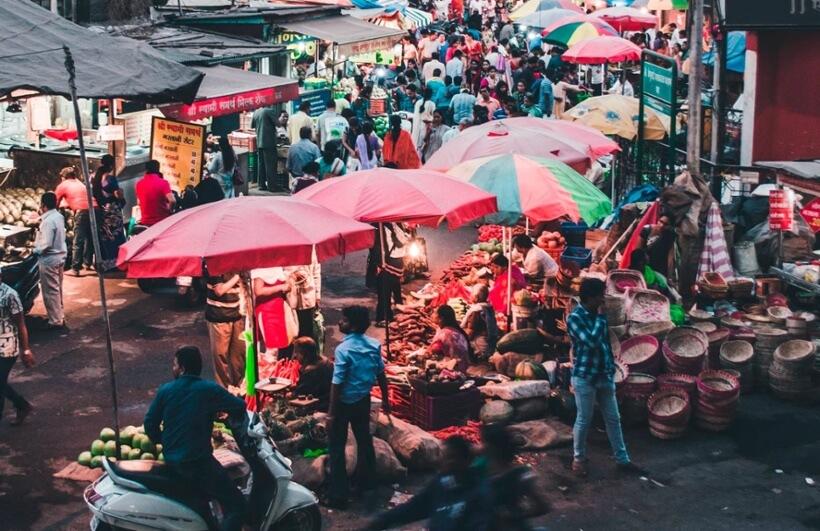 Pune's market