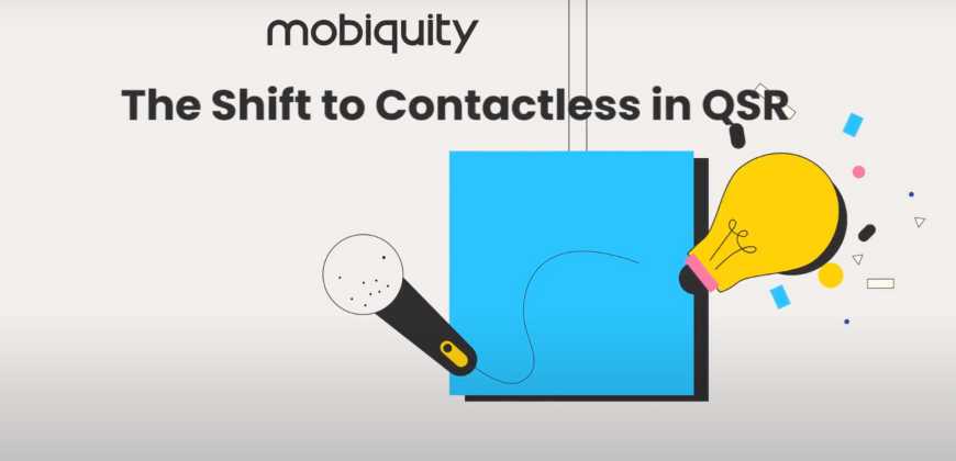 Shift to Contactless in QSR Restaurant Solutions Page