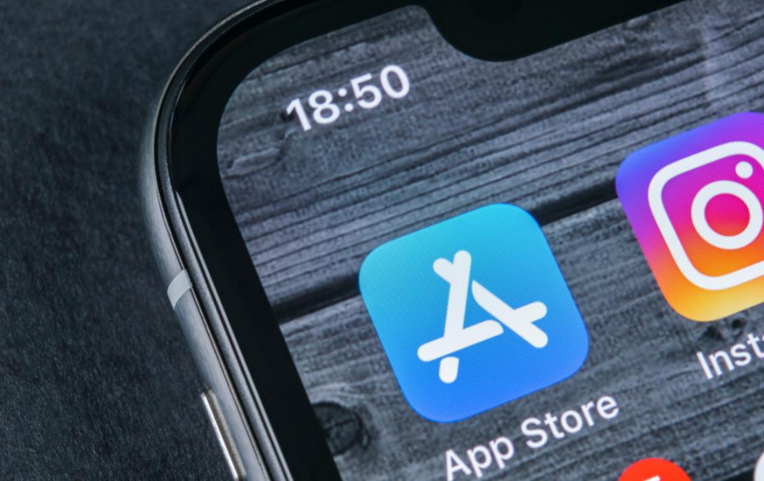 Banking App Store Header