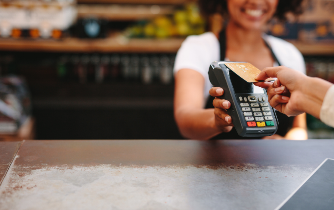 Ordering and Payment Restaurant Business Header