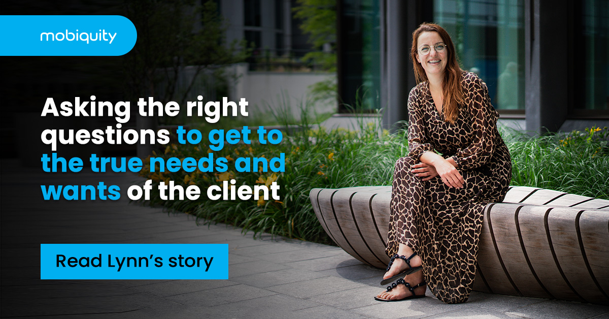Asking the right questions to get to the true needs and wants of the client
